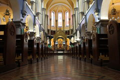 Het Altaar van de Kathedraal van Sligo Stock Foto