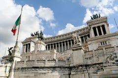 Het Altaar van het geboorteland in Rome Stock Foto