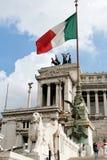 Het Altaar van het geboorteland in Rome - Detail Stock Foto's