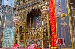 Het altaar van St James Cathedral Royalty-vrije Stock Afbeeldingen