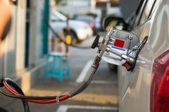 Het alternatief tankt brandstof, CNG, LPG, NGV bij stock afbeeldingen