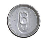 Het aluminium kan Stock Foto