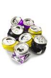 Het aluminium kan Royalty-vrije Stock Afbeeldingen