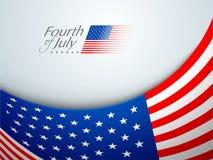 Het Amerikaanse concept van de Onafhankelijkheidsdag. Royalty-vrije Stock Foto's