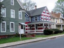 Het Amerikaanse huis van Cambridge Maryland op een straat 2016 Royalty-vrije Stock Afbeeldingen