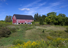 Het Amerikaanse Landbouwbedrijf van het Land Royalty-vrije Stock Foto