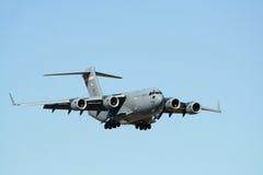 Het Amerikaanse Militaire Vliegtuig van het Vervoer Stock Afbeeldingen