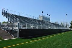 Het Amerikaanse Stadion van de Voetbal van de Middelbare school royalty-vrije stock fotografie
