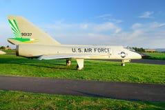 Het Amerikaanse straal militaire vliegtuig Stock Afbeelding