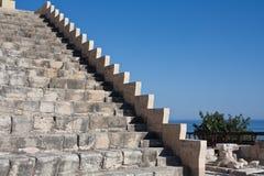 Het amfitheater van de steen stock afbeelding