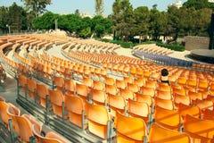 Het amfitheater van de zomer Stock Foto's