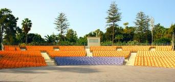 Het amfitheater van de zomer Stock Afbeelding