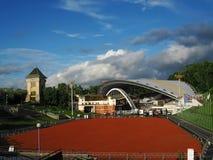 Het amfitheater van het festival - Vitebsk   Stock Afbeeldingen