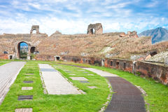 Het Amfitheater van Santa Maria Capua Vetere Stock Foto's