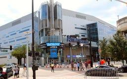 Het Amway-Centrum, Orlando, Florida royalty-vrije stock foto's