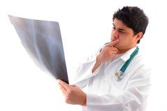 Het Analyseren van de röntgenstraal Royalty-vrije Stock Foto