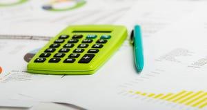 Het analyseren van effectenbeursgegevens Stock Fotografie