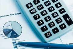 Het analyseren van effectenbeursgegevens Stock Afbeeldingen