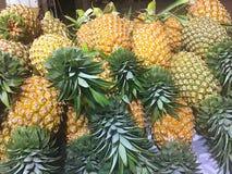 Het ananasfruit voor verkoopt van Thailand Royalty-vrije Stock Foto's