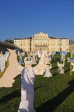 Het Angelsâ Koor, Villa Manin, Italië Stock Fotografie