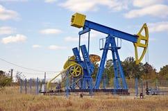 Het anker van de olie stock fotografie