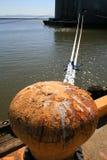 Het Anker van de zeehaven Royalty-vrije Stock Fotografie
