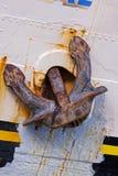 Het Anker van het schip Stock Foto