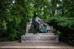 Het anonieme gedenkteken van Boedapest stock afbeeldingen