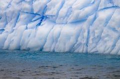 Het antarctische Patroon van de Ijsberg Stock Afbeeldingen