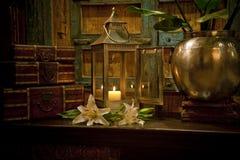 Het antieke huiswaren plaatsen Royalty-vrije Stock Afbeelding