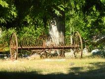 Het antieke landbouwbedrijf voert uit Stock Fotografie