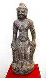 Het Antieke Standbeeld - Surat Thani, Thailand Royalty-vrije Stock Fotografie