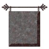 Het antieke Teken Hangen Stock Fotografie