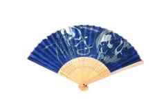 Het antieke Ventilator Japanse Vouwen Royalty-vrije Stock Afbeelding