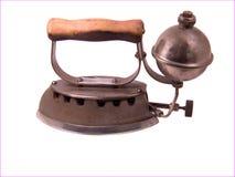 Het antieke Vlakke Ijzer van de Stoom royalty-vrije stock fotografie