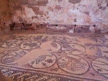 het antieke vloer schilderen in een tempel royalty-vrije stock foto