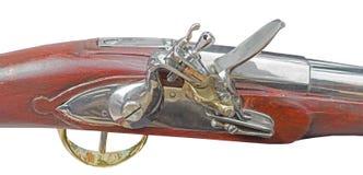 Het antieke vuurwapen van de snuitlading stock afbeeldingen