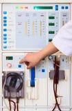 Het apparaat van de dialyse Stock Afbeelding