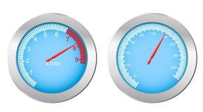 Het apparaat van de snelheid Stock Foto's