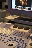Het apparaat van de ultrasone klank stock fotografie