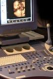 Het apparaat van de ultrasone klank stock foto's