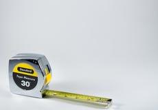 Het apparaat voorgenomen voor meting van lengte Stock Fotografie