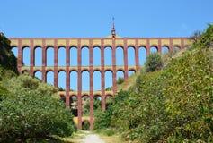 Het aquaduct van de adelaar van Nerja Royalty-vrije Stock Afbeelding