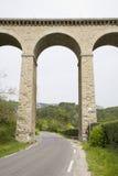 Het Aquaduct van de brug Royalty-vrije Stock Afbeelding