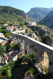 Het aquaduct van de staaf Stock Afbeelding
