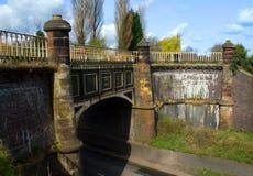 Het Aquaduct van het kanaal Royalty-vrije Stock Fotografie