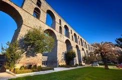Het Aquaduct van Kavala royalty-vrije stock fotografie
