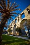 Het Aquaduct van Kavala stock foto