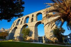 Het Aquaduct van Kavala stock afbeelding