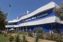 Het Aquarium van de de Ontdekkingswereld van Sotchi in Adler Stock Fotografie